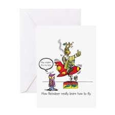 How Reindeer Really Learn How Greeting Card