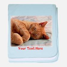 Personalizable Sweet Dreams baby blanket