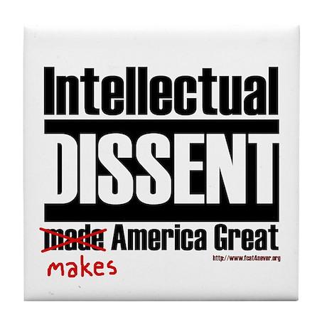 Intellectual Dissent makes Am Tile Coaster