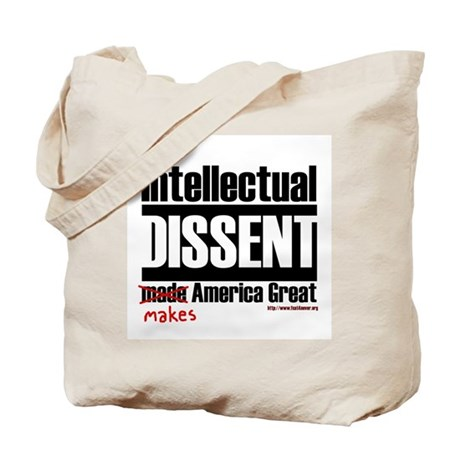 Intellectual Dissent makes Am Tote Bag
