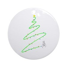 Christmas tree Ornament (Round)