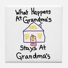 Grandma's House Tile Coaster