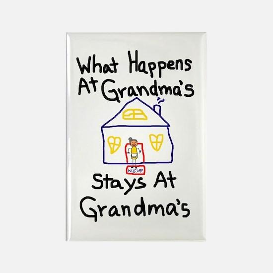 Grandma's House Rectangle Magnet