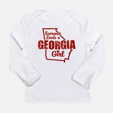 Georgia Gir Long Sleeve T-Shirt