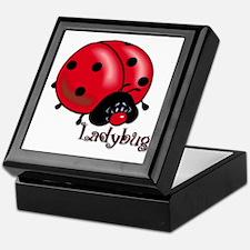 Chubby Lil' Ladybug Keepsake Box