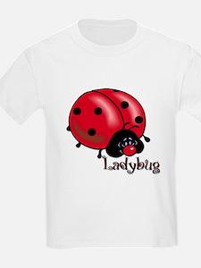 Chubby Lil' Ladybug Kids T-Shirt