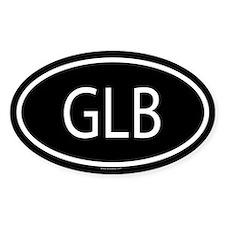GLB Oval Bumper Stickers
