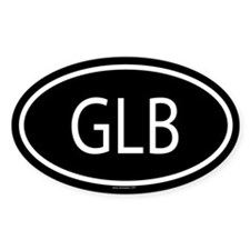 GLB Oval Decal