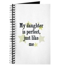 My daughter is perfect, just Journal