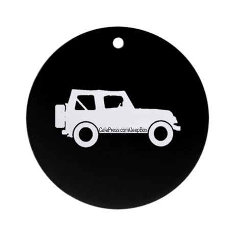 Jeep Box - Ornament (Round)