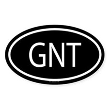 GNT Oval Decal