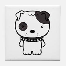 Spike Pit Bull Tile Coaster