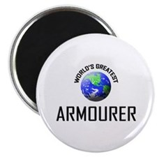 World's Greatest ARMOURER Magnet