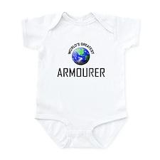 World's Greatest ARMOURER Infant Bodysuit