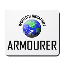 World's Greatest ARMOURER Mousepad