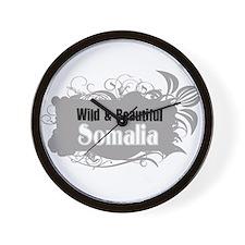 Wild Somalia Wall Clock