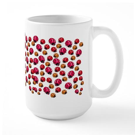 Ladybugs Large Mug