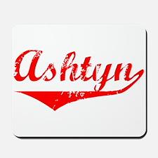 Ashtyn Vintage (Red) Mousepad