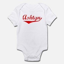 Ashtyn Vintage (Red) Infant Bodysuit
