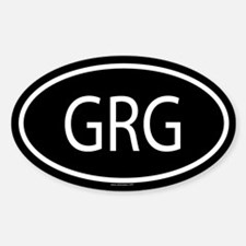 GRG Oval Decal