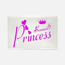 Somali princess Rectangle Magnet