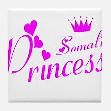 Somali princess Tile Coaster