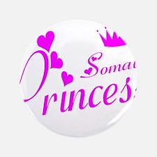 """Somali princess 3.5"""" Button"""