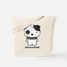Spike Pit Bull Tote Bag