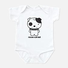 Spike Pit Bull Infant Bodysuit