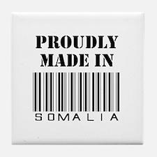 made in Somalia Tile Coaster