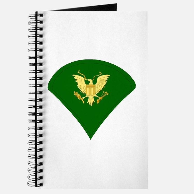 Cute Army rank Journal