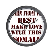 Learn from this Somali Wall Clock