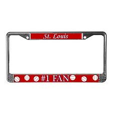 St. Louis Baseball Fan License Plate Frame