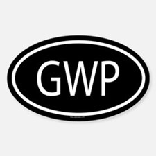 GWP Oval Decal