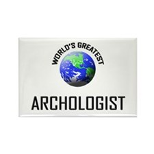 World's Greatest ARCHOLOGIST Rectangle Magnet