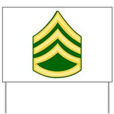 Cool Army national guard Yard Sign