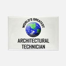 World's Greatest ARCHITECTURAL TECHNICIAN Rectangl