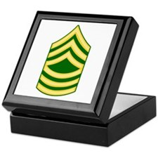 Funny Army national guard Keepsake Box