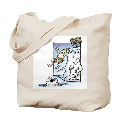 Polar Bear Club Tote Bag