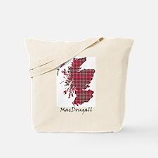 Map - MacDougall Tote Bag