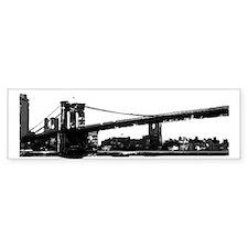 Brooklyn Bridge Bumper Bumper Sticker