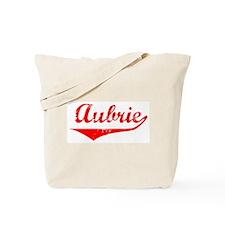 Aubrie Vintage (Red) Tote Bag