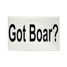 Got Boar? Rectangle Magnet