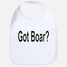 Got Boar? Bib