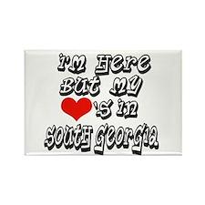 Funny I love south georgia Rectangle Magnet