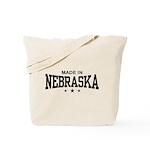Made In Nebraska Tote Bag