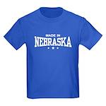 Made In Nebraska Kids Dark T-Shirt