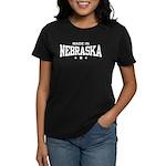 Made In Nebraska Women's Dark T-Shirt