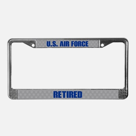 U.S. Air Force Retired License Plate Frame License Plate Frame