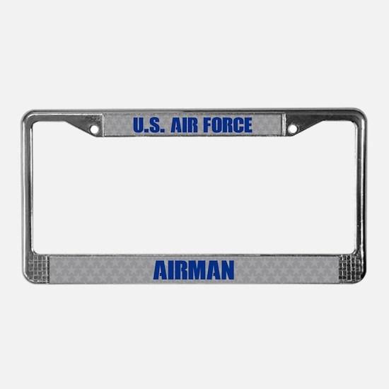 U.s. Air Force Airman License Plate Frame